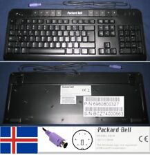 Clavier QWERTY d'Islande / Iceland keyboard PACKARD BELL 6301N 6960800327 PS/2