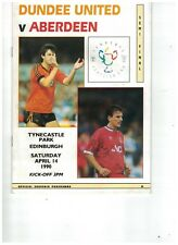 DUNDEE UNITED v ABERDEEN 14th April 1990 Scottish FAC Semi Final @HEARTS