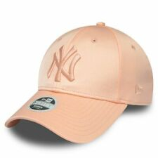 New Era 9Forty Damen Cap - SATIN New York Yankees pink