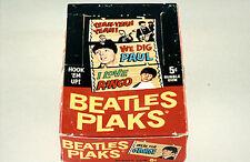 Beatles Plaks Topps 1964 Display Box 5x7 color photo