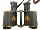 WW1 British Ross Stereo Prism Binoculars 6 Power & Strap