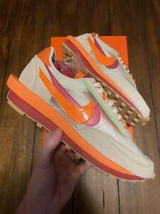Nike Sacai x Clot x LDWaffle Net Orange Blaze - Men's 11.5