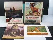 Vintage Firearms Catalogs 69 High Standard 68 Redfield 71 Marlin 70 Weatherby