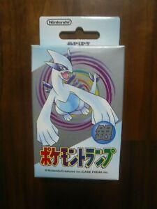 1 deck : Nintendo Poker Playing Cards 1999 - Pokemon (Silver : Lugia)-Sealed New