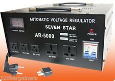 Seven Star AR5000 Watt Step Up-Down Voltage Converter Stabilizer 220v 110v 5000W