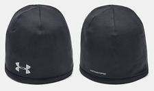 New Under Armour Men's UA Storm WINDSTOPPER® 2.0 Beanie Black Fleece Cap OSFM