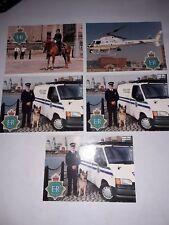 5 X Merseyside Police Promo Photos Van Horse Helicopter Dog