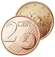 2 Cent Euro Slovaquie 2019 - BU - Brillant Universel - Pièce Neuve