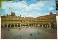 Spain Salamanca Plaza Mayor - posted 1971