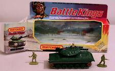 DTE LESNEY MATCHBOX BATTLEKINGS BK-109 GREEN MILITARY M-551 SHERIDAN TANK NIOB