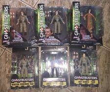 Ghostbusters Select set of 6 Series 1,2 Dana Venkman Egon Tully Stantz Zeddemore