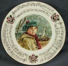 Royal Doulton I Saw Three Ships 1986 Christmas Carol Collector Plate
