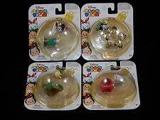 Disney Tsum Tsum Christmas Mini Vinyl Figures Ornaments ~ Mickey & Friends