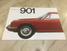 Porsche 901 911 Car Brochure 1963 2013 50 years special reprint