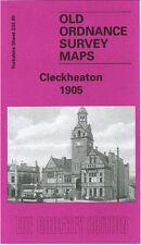 Mapa antiguo Ordnance Survey Cleckheaton West End Park Spen la perspectiva superior 1905