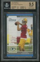 2005 bowman first edition AARON RODGERS rookie BGS 9.5 pop 7