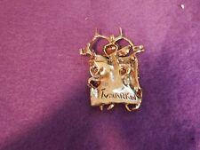 NEW PRICE Beautiful Igael Tumarkin pin/pendant Holocaust abstract design
