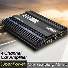 3800 WATTS CAR 4/3/2 CHANNEL POWER AMPLIFIER PWM DC AUDIO BASS SUBWOOFER 4Ohm