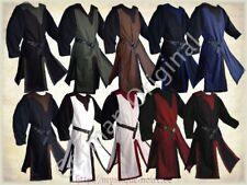 German Medival Surcoat Tabart Tunic 10 Colours Middle Ages SCA Larp Reenactment