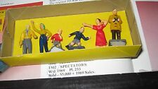 CORGI 1502  ORIGINAL 1962-69  RARE FIGURES IN AGE WORN GOOD ORIGINAL BOX.