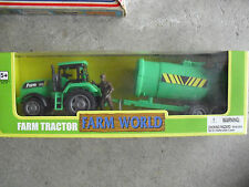 Farm World Plastic 132 Tractor with Implement NIB