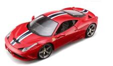 1/18 Bburago Ferrari 458 Speciale Red Diecast Model Car Red 18-16002
