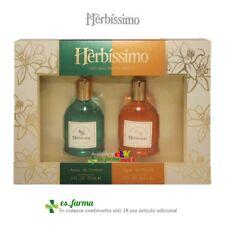 DANA PERFUME SET COLONIA HERBISSIMO EAU DE COLOGNE AGUA ENEBRO  NEROLI 60+60ml