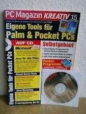 PC Magazin Kreativ Nr.15: Eigene Tools für Palm & Pocket PCs selbstgebaut; CD