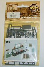 Ratio 553 - Signal Box Interior Kit - New.(00) Railway Model