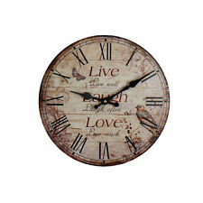 Hometime Kitchen Antique Style Wall Clocks