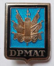 Insigne ARGENT MASSIF DPMAT DIRECTION PERSONNEL MILITAIRE ARMEE DE TERRE DRAGO