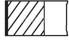 Kolbenringsatz - Mahle 011 69 N0