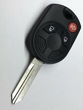 NEW LINCOLN UNCUT KEYLESS ENTRY REMOTE OEM 3 BUTTON IGNITION HEAD KEY FOB COMBO