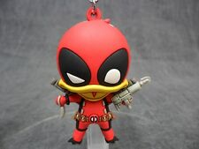 Deadpool NEW * Deadpool the Duck * 3-D Figural Key Chain Blind Bag Keychain Ring