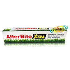 Después de mordida Xtra extra Gel 20g Calma Comezón las picaduras de insectos picaduras & Ortiga erupción