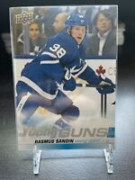 2019-20 Upper Deck Series 1 Jumbo Young Guns Rasmus Sandin Toronto Maple Leafs