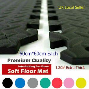 Large Gym Flooring Interlocking Floor Mats EVA Foam Yoga Swimming Pool Tiles