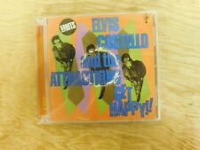 Get Happy!! [Rhino Bonus Disc] Elvis Costello & Attractions RARE OOP 2 CD SET
