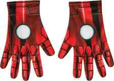 Iron Man Gloves Marvel Avengers Fancy Dress Halloween Adult Costume Accessory