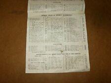 Ancienne liste de prix de vente au détail DINKY TOYS + HORNBY - septembre 1962
