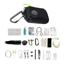 29Pcs/Set Outdoor Survival Kit First Aid Tools Camping Rescue Gear Emergency Kit