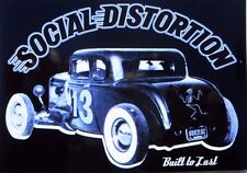 "Social Distortion Built To Last Rat Rod 13 Sticker Decal 5"" x 4"" Licensed S.D."