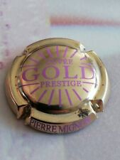 Capsule de Champagne PIERRE MIGNON Prestige Gold Doré à l'or Fin Rose.