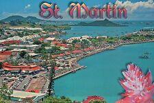 Marigot Aerial Saint Martin Sint Maarten French West Indies Caribbean - Postcard