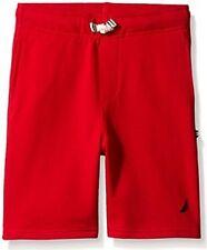 Nautica N864005Q Big Boy's Knit Short Red Size Large (14/16) NWT