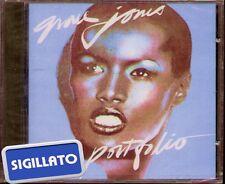 "GRACE JONES "" PORTFOLIO "" CD SIGILLATO  ISLAND 1977 ITALY"