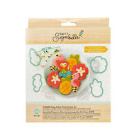American Crafts Sweet Sugarbelle Summer Cookie Cutters Template Set - 14 Pieces
