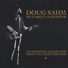 DOUG SAHM He's About a Groover An Essential Collection CD Texas Tornado Rock