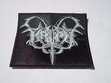 KRYPT LOGO  BLACK METAL EMBROIDERED PATCH