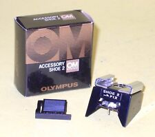 Accessory Shoe 2 for Olympus Om with Box and Cover